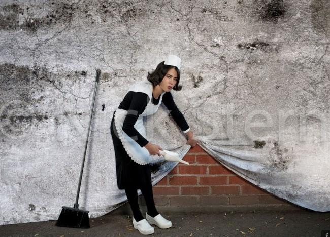 """Nick Stern """"ożywia"""" Banksy'iego"""