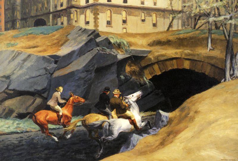 """Z cyklu: ŚWIATOWY RYNEK SZTUKI – """"Bridle Path"""" Edwarda Hoppera"""