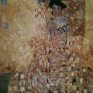 Kopia wg. Gustawa Klimta, Marek Kubski