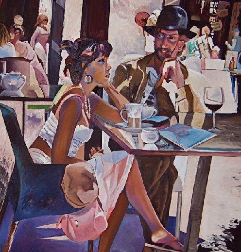 Malarstwo Tatiany Binovskiej – powitanie Afryki…
