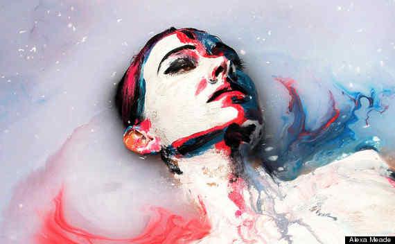 Żywe obrazy – czyli o twórczości Alexy Meade i Sheili Vand