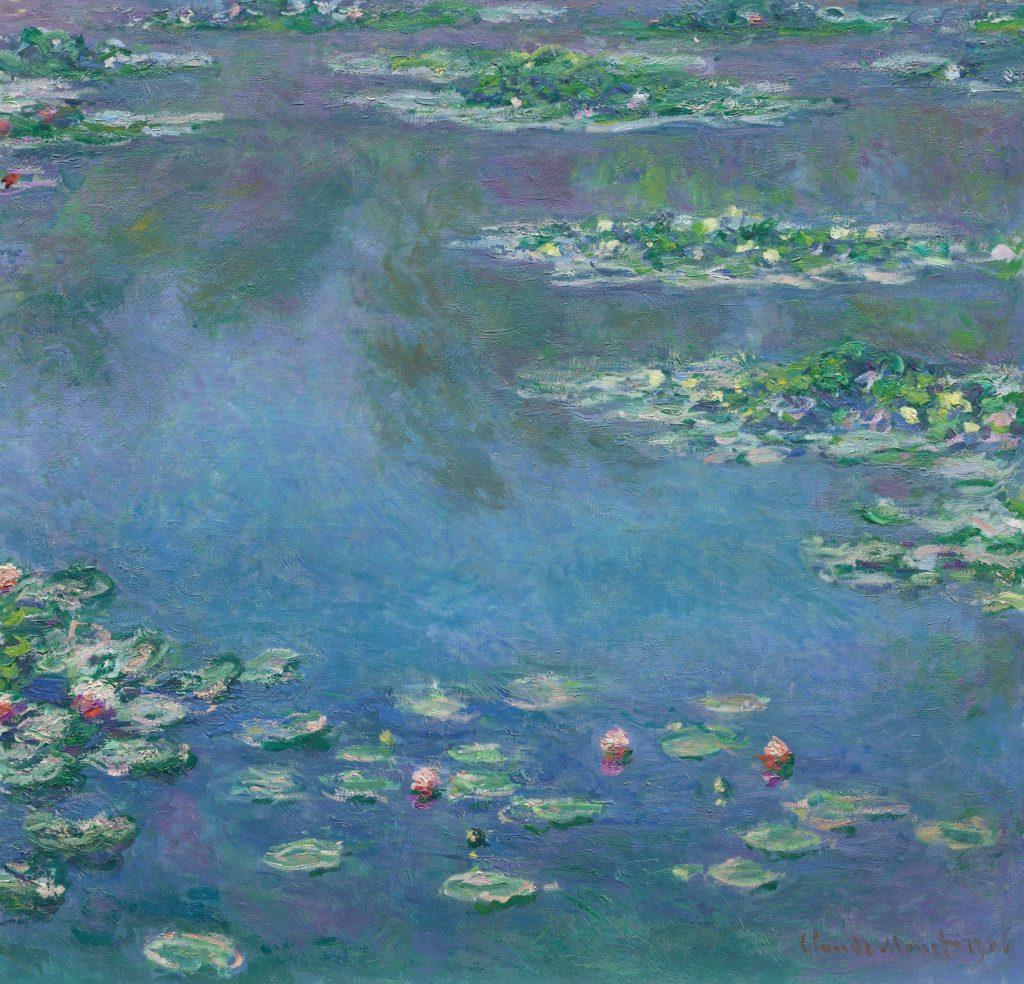 Claude Monet, Nenufary, Art Institute Chicago