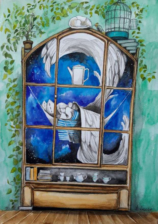 Angels are sleeping in old cupboards Adriana Laube