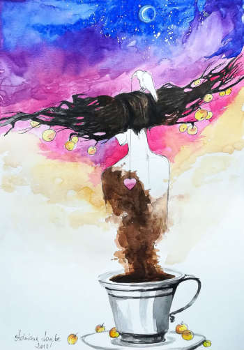 On coffee - Adriana Laube
