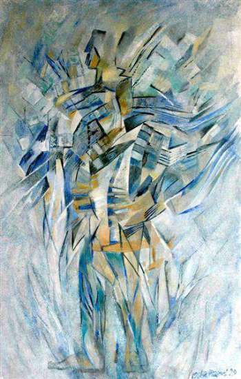 Blue dancer - Agata Mazuś