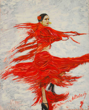In the rhythm of flamenco. - Alex Pelesh