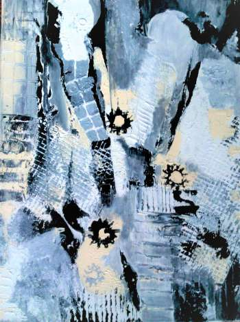 Winter abstraction - Alicja Wysocka