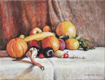 Garlic with fruit - Andrzej Hamera