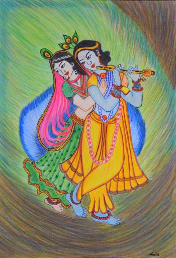 Dance of Love - Radha Krishna - Anila Saxena