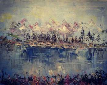 Lake in the mountains - Anna Bukhal