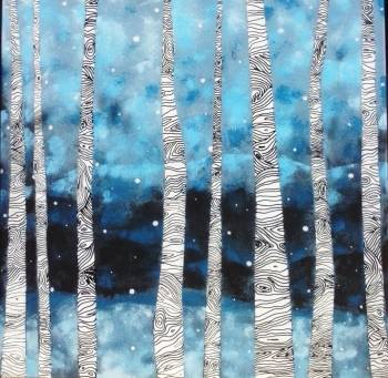 birches - Anna Koca