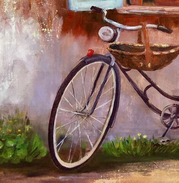Bicycle  Anna Laurson