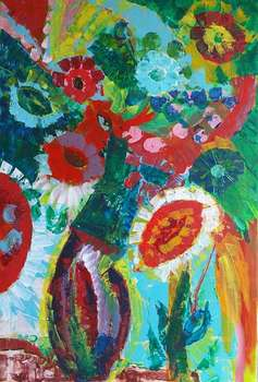 Colorful abstract bouquet - Anna  Michalczak