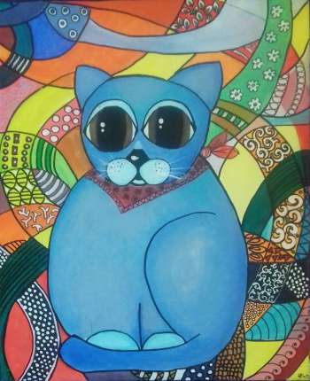 Blue cat - AnulaS