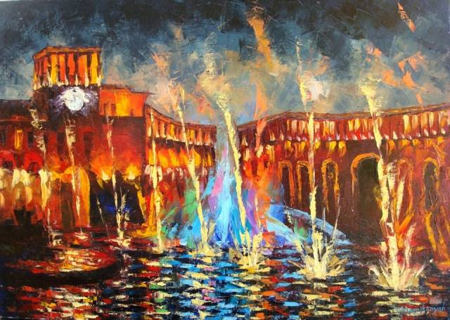 Nightly Yerevan Armenian Art