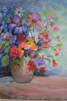 And flowers - Barbara Kowalska