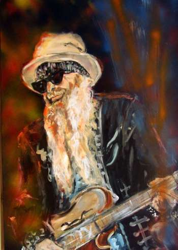 BILLY GIBBONS - ZZ Top - Bernadeta Nowak