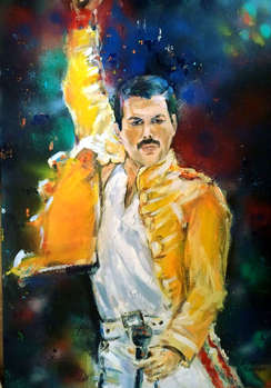 FREDDY MERCURY - QUEEN - Bernadeta Nowak