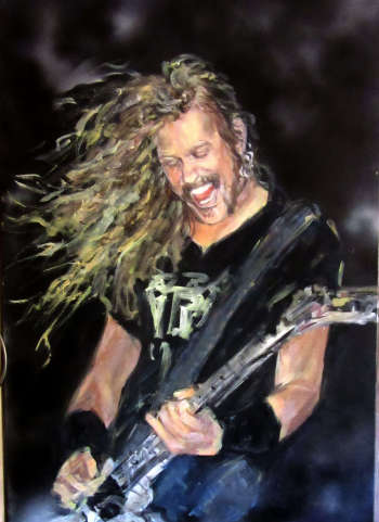 JAMES HETFIELD  - Metallica - Bernadeta Nowak