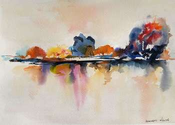 AUTUMN LAKE - Bernadeta Nowak