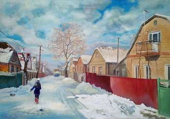 Road to school - Bogdan Ermakov