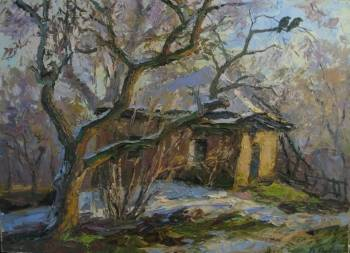an old apple tree - Borys Sierdiuk