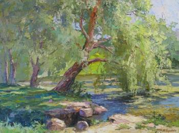 weeping willow - Borys Sierdiuk