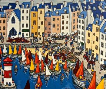 HONFLEUR - NORMANDY - Bruno Tremohars