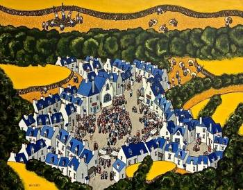 Messe in der Bretagne SMALL TOWN - Bruno Tremohars