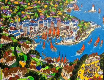 PORT W HONFLEUR (NORMANDIA) - Bruno Tremohars