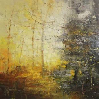 Reflecting yellow - Claire Wiltsher
