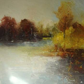 River crossing (series) - Claire Wiltsher