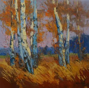 Autumn. Birch. - Daniel Gromacki