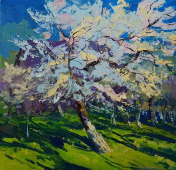 Spring in the orchard. - Daniel Gromacki
