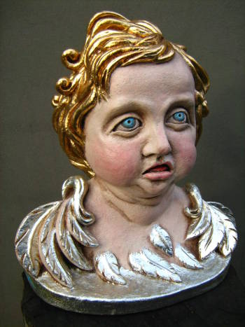 scultura Putto - Dominika Rumińska