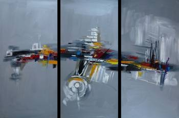 Abstraction - Triptych - Dorota Łaz
