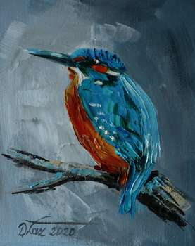 KINGFISHER - Dorota Łaz