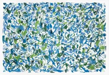 """Blue-Green Scatter #1"" - Ed Buziak"