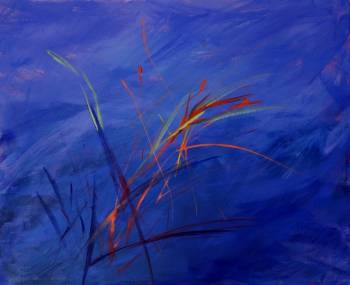 Abstraction blue - Eleonora Sarnowska