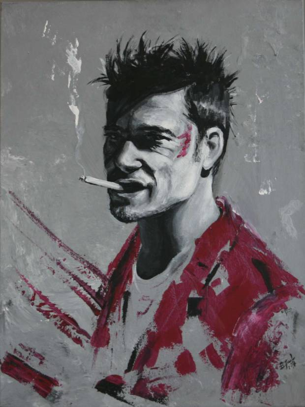 """ Fight Club"" Ewa Jasek"