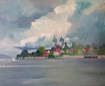 By the Lake of Constance - Ewa Witkowska