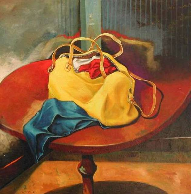 Yellow bag .... Gilberto Carpo