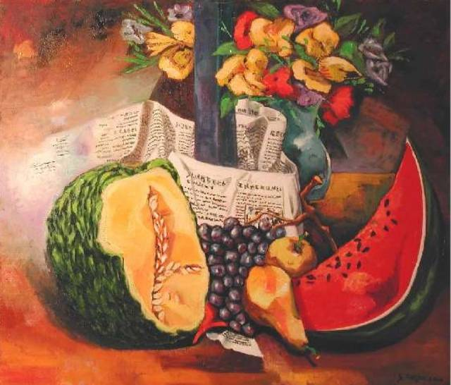 Still Life et le journal .... Gilberto Carpo