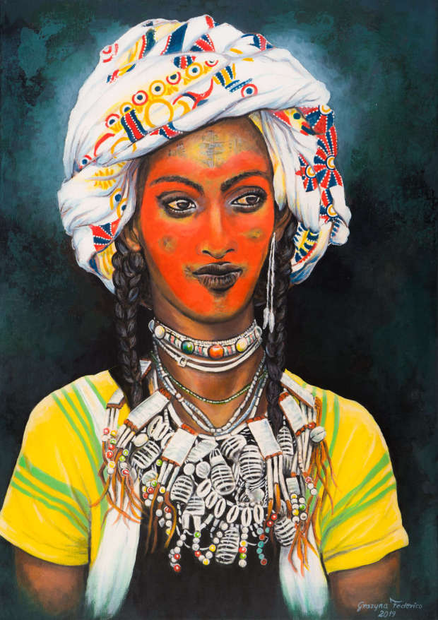 The Wodaabe man Grazyna Federico