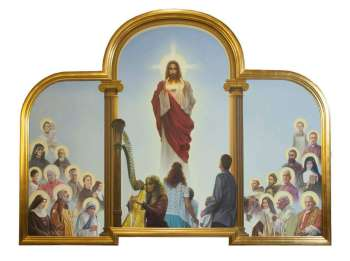 "TRIPTYCH under the title ""Cult of Sacred Heart of Jesus"" - Grzegorz Bialik"