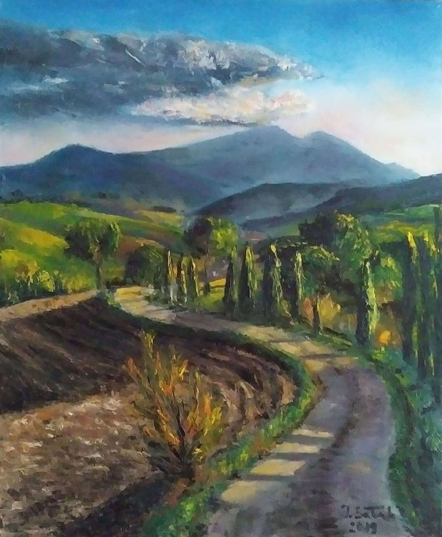 Tuscan evening Iwonna Salak