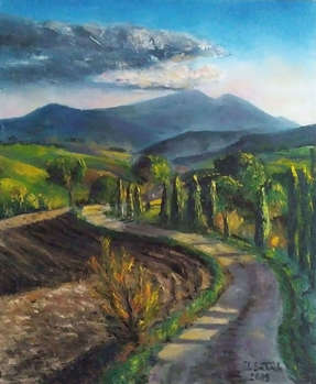 Tuscan evening - Iwonna Salak