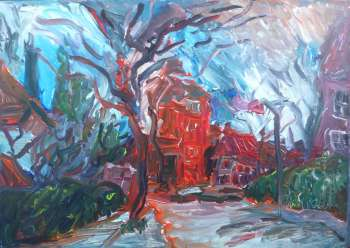 London, West Ealing, The red house - Jacek Kamiński