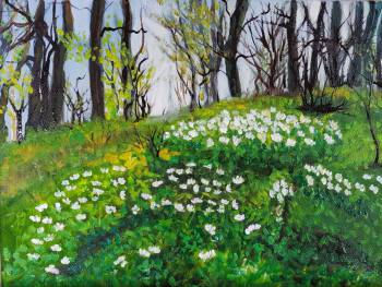 Spring in the forest - Jadwiga Rudnicka