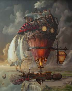 Giclee- On the edge of the world - Jarosław Jaśnikowski